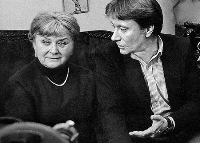 Мария Миронова и Андрей Миронов