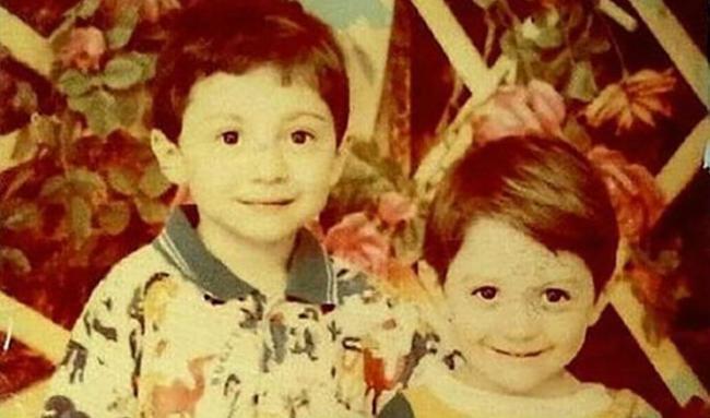 Тамби Масаев в детстве