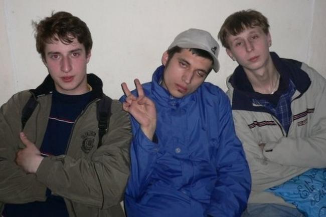 Участники группы «Контейнер»