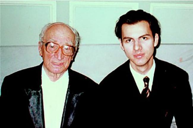 Теодор Курентзис и Илья Мусин