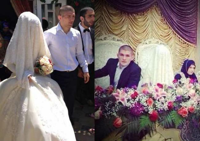 Свадьба Хабиба Нурмагомедова