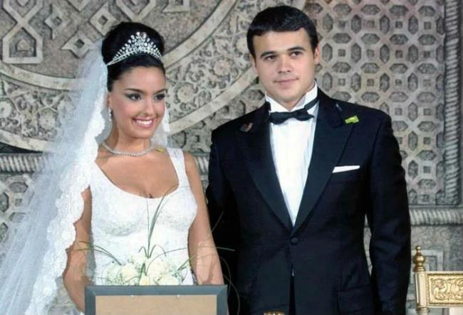 Свадьба Эмина Агаларова и Лейлы Алиевой