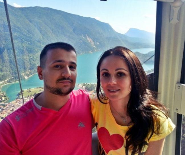 Марин и его супруга Марина