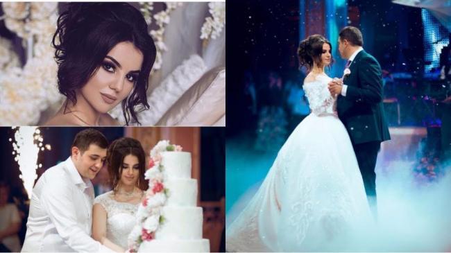Ани Варданян на свадьбе