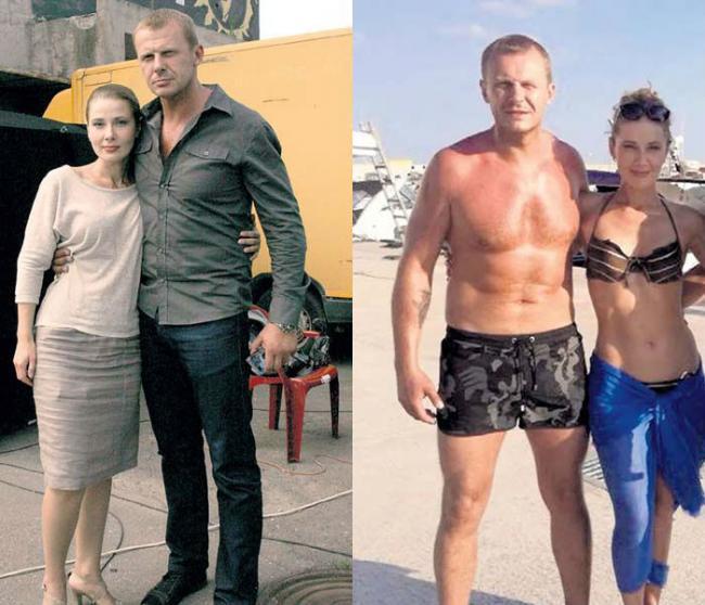 Андрей Стоянов с Ириной Линдт