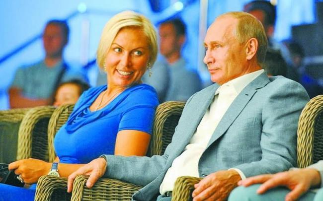 Наталья Рагозина и сыном