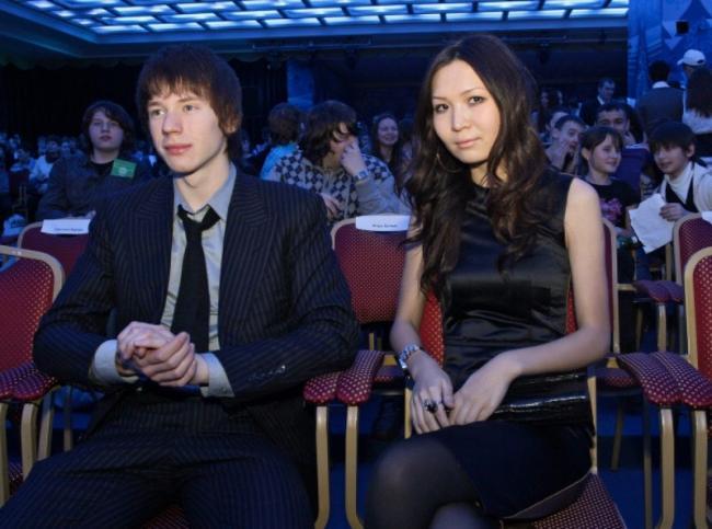 Никита Пресняков с Аидой Калиевой