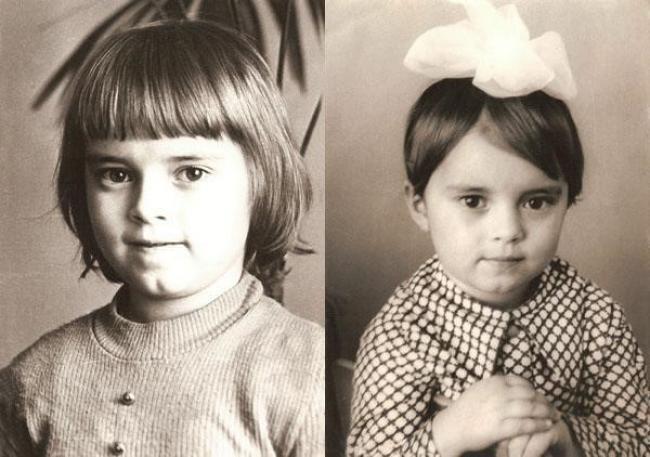 Анна Кирьянова в детстве