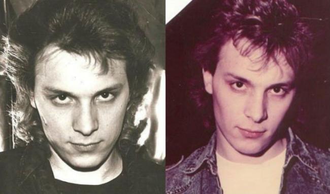 Андрей Разин в молодости
