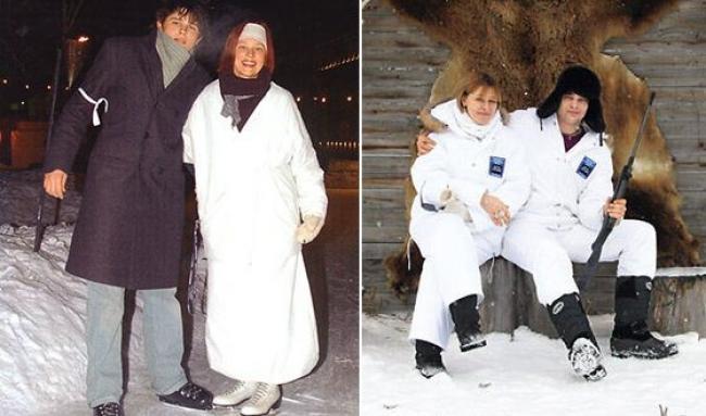 Елена Витальевна Дробышева с сыном Филиппом