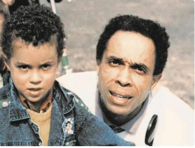 Энтони Родд с отцом