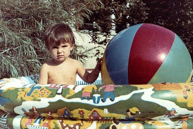 Кирилл Туриченко в детстве