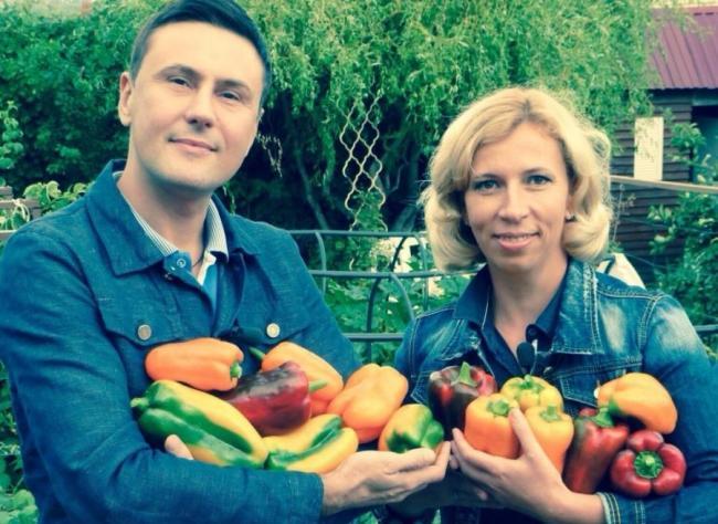 Марина Рыкалина и Виталий Декабрев