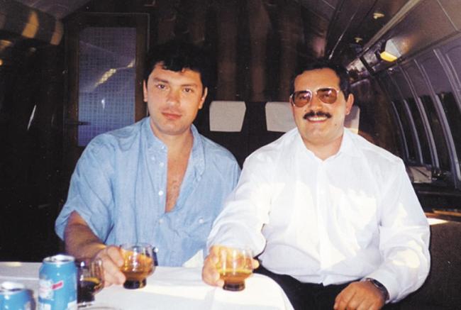 Борис Надеждин и Борис Немцов