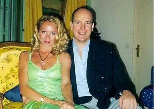 Оксана Грищук с принцем Монако