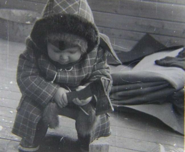 Иван Разумов в детстве