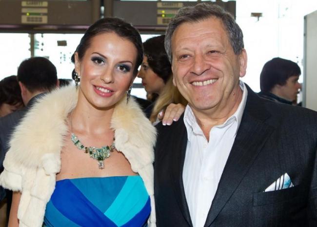 Борис Грачевский и его вторая бывшая супруга Анна