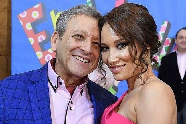 Борис Грачевский с женой
