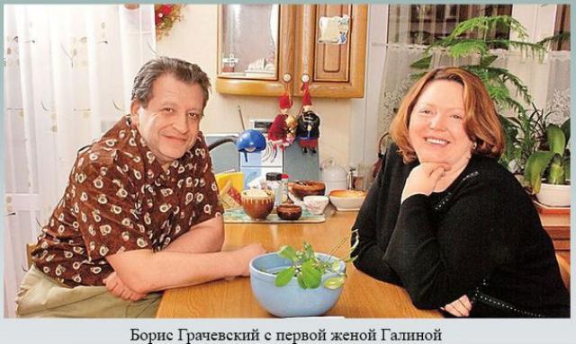 Борис Юрьевич Грачевский с первой супругой Галиной Яковлевной