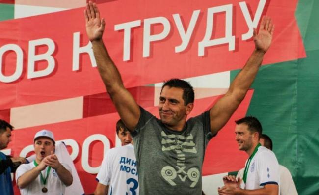 Денис Стойков на олимпиаде