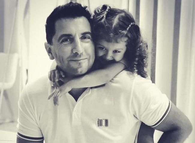 Денис Стойков с дочерью
