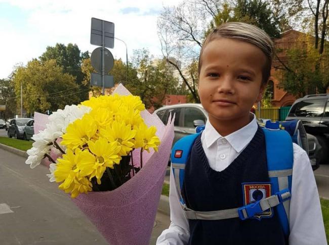 Младший сын Татьяны Абрамовой
