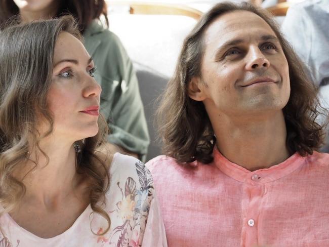 Дмитрий Бозин с женой