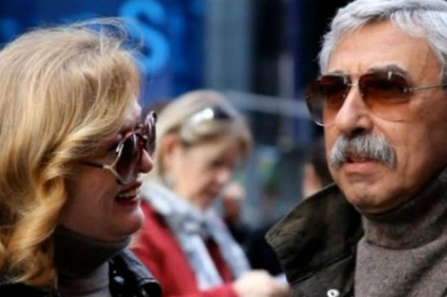 Елена Соловей с мужем