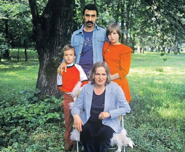 Семья Елены Соловей
