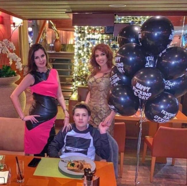 Елена, Арсений и Наталья Штурм