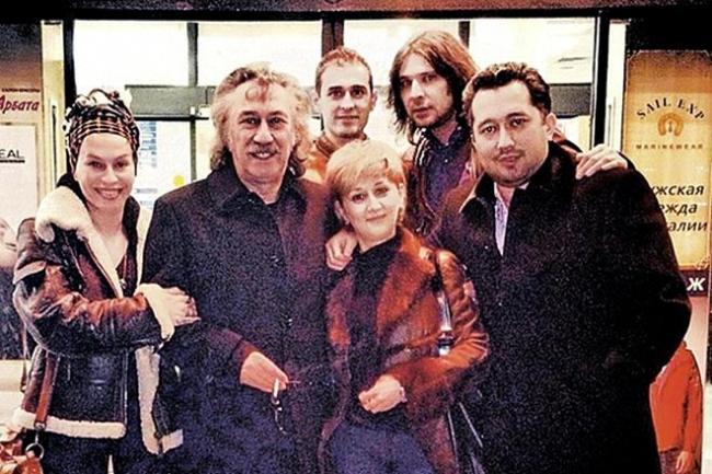 Фарух Закиров с семьей