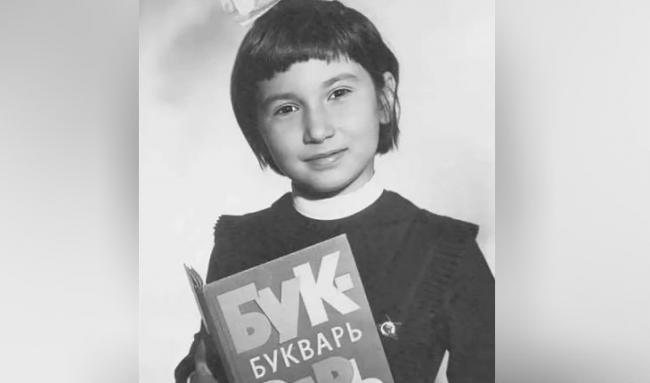 Ирада Зейналова школьница