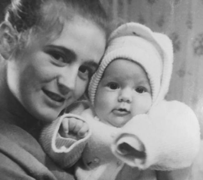Юлия Барановская в детстве