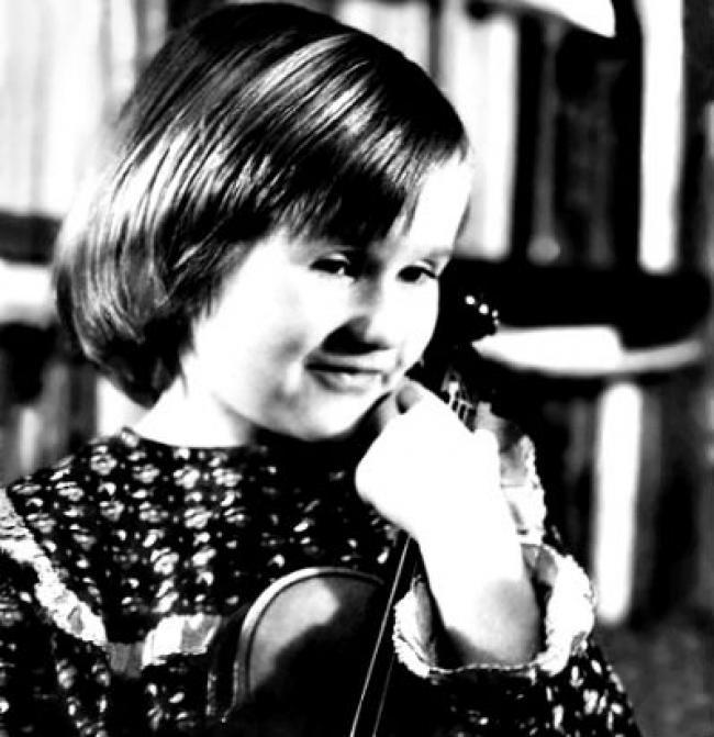 Наталья Грейс в детстве