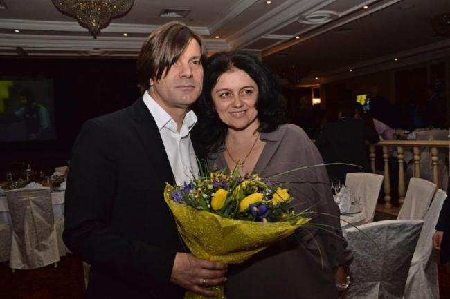 Николай Трубач с женой Еленой