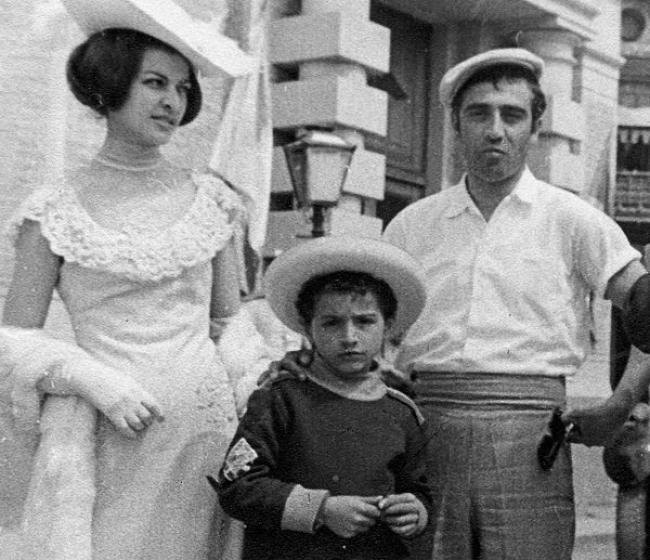 Тигран Кеосаян с родителями