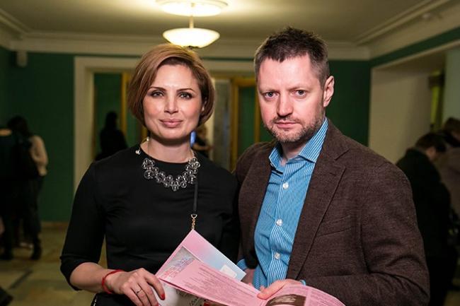 Алексей Пивоваров с женой