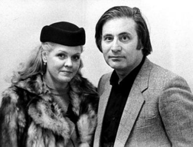 Альфред Шнитке с женой Ириной