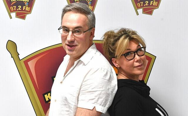Андрей Норкин и Юлия Норкина
