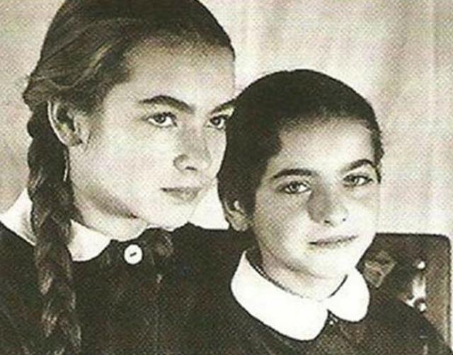 Барбара Брыльска с сестрой Ядвигой