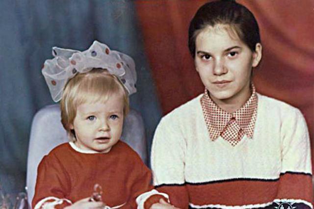 Дарья Пынзарь в детстве