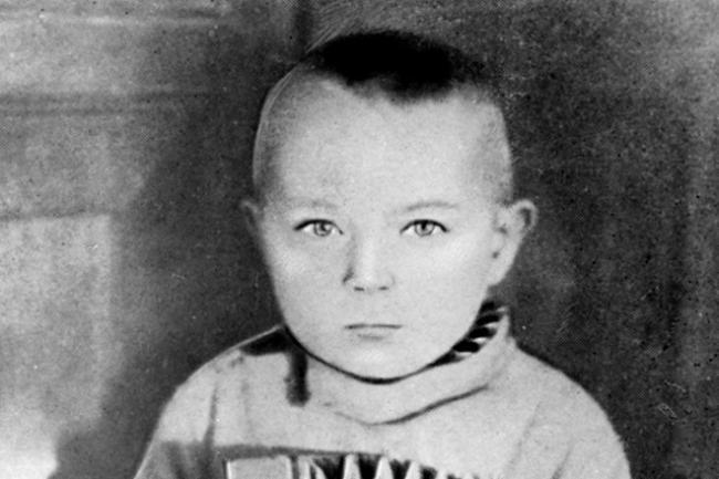 Герман Титов в детстве