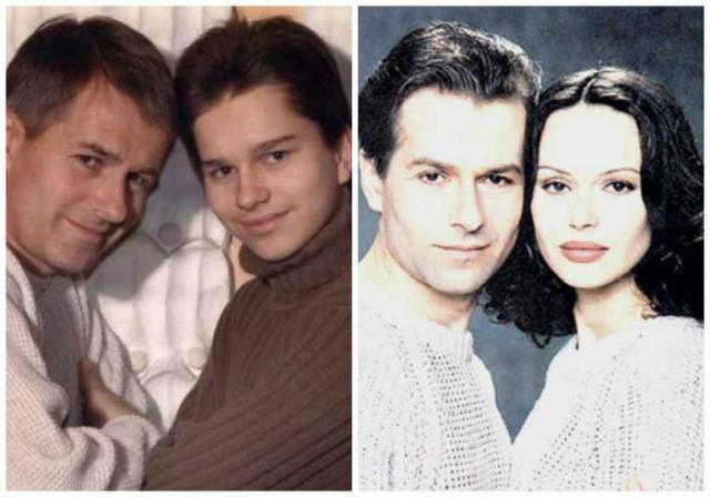 Игорь Ливанов с Ириной и сыном