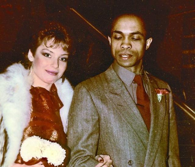 Ирина Понаровская с мужем Вейландом