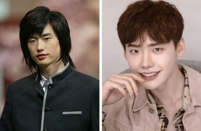 Ли Чон Сок до и после пластической операции