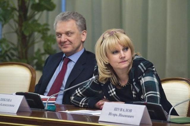 Голикова и Христенко