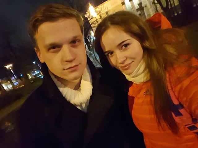 Полина Герц и Артур Сопельник