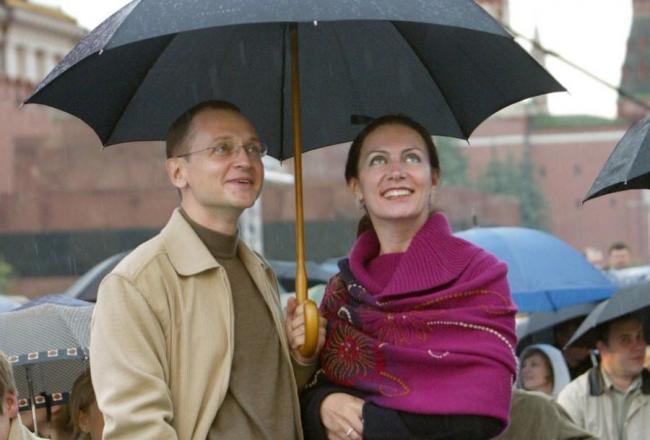 Сергей Кириенко с женой