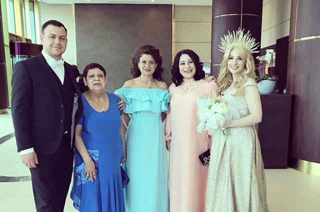 Валерий Блюменкранц и Тата Абрамсон на своей свадьбе