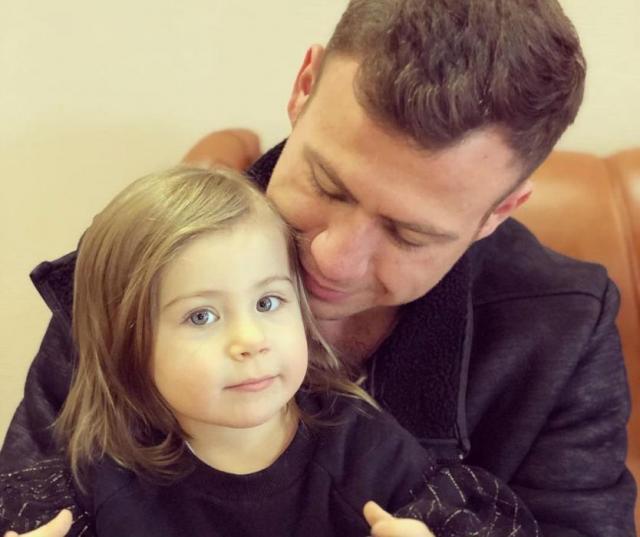 Валерий Блюменкранц с дочкой